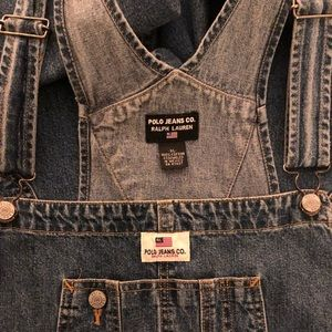 Ralph Lauren Polo Vintage Classic Jean Overall.